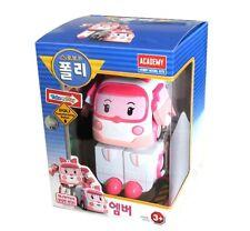 Academy Korea 3D Animation Cartoon Robocar Poli AMBER Transforming Robot Toy