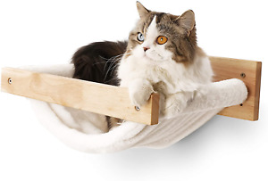 FUKUMARU Cat Hammock Wall Mounted Large Cats Shelf - Modern Beds and Perches - P