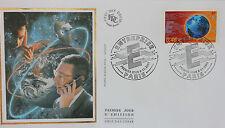ENVELOPPE PREMIER JOUR - 9 x 16,5 cm - ANNEE 2002 - ENTREPRISE PARIS