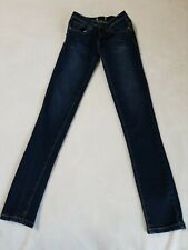 1st First Kiss Girls Size 12 Get Booty Booster Skinny Dark Washed Denim Jeans
