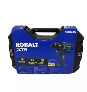 KOBALT 24V MAX 1/2-IN HIGH-TORQUE IMPACT WRENCH KIT 1518745