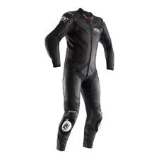 RST Isle of Man TT Grandstand CE Rated A Men's Motorbike Racing Leather 1PC Suit