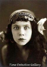 Bug-eyed Gypsy Fortune Teller / Seer - 1920s - Historic Photo Print