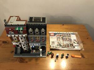 Modular Buildings Lego 10218: Pet Shop 100% Complete & Instructions