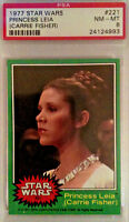 CARRIE FISHER, PRINCESS LEIA poster-RARE trading card and lobby card. STAR WARS.