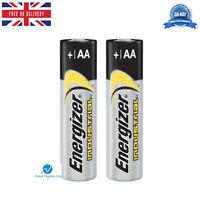 2 x Energizer Genuine AA Industrial LR6 Professional 1.5 volts Alkaline Battery