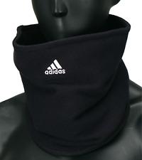 Adidas Football Fleece Neck Warmer Running Black Soccer Face Mask OSFM W67131