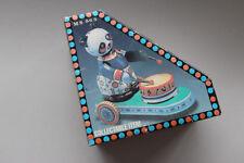 Wind Up tambour Panda TIN TOY en boîte vintage