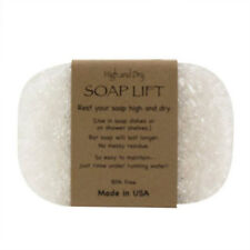 CRYSTAL SOAP LIFT SOAP DISH, THE BEST WAY TO KEEP YOUR SOAP FREE OF MUCK   - NEW