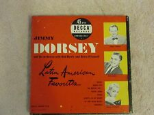 "JIMMY DORSEY -""Latin American Favorites"" - 1940'S (4 Records Box Set) 45 RPM"