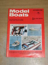 September Model Boats Hobbies & Crafts Magazines