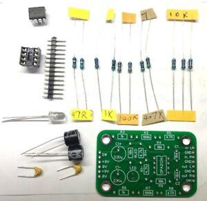 KMTech CMoy Headphone Amplifier 55mm x 35mm DIY KIT