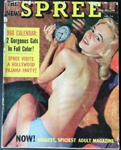 Vintage  SPREE Magazine - 1959 - Vol.1,  No. 14 - Terry Higgins, Virginia Bell