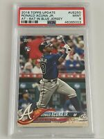 2018 TOPPS UPDATE RONALD ACUNA JR. #US250 PSA 9 ROOKIE CARD RC QTY