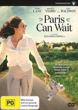 Paris Can Wait (DVD, 2017) NEW