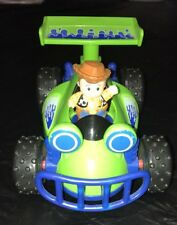 Fisher Price Little People Disney Toy Story Woody Figure& RC Race Car Set