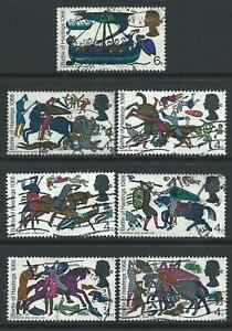 GB 1966 SG705-11 900TH ANNIVERSARY OF THE BATTLE OF HASTINGS USED NO 1/3d