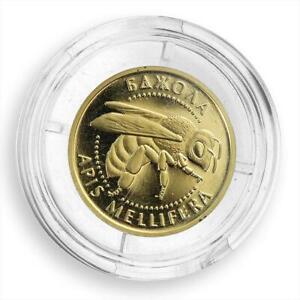 Ukraine 2 hryvnas Bee Wisdom fertility gold coin 2010