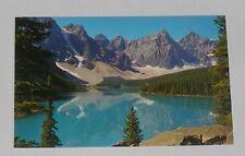 Canada - Canadian Rockies - Moraine Lake - Old Postcard