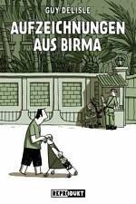 Guy Delisle grabaciones de Birmania Birmania cómic