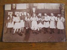 1914 Tunstall Road ? SCHOOL Young GIRLS Dance Production PHOTOGRAPH