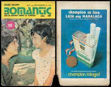 1977 Philippine ROMANTIC KOMIKS MAGASIN Tirso & Nora Aunor #552 Comics
