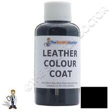 Color Negro de cuero de abrigo para BMW Tinte. Kit de reparación y restauración colorante