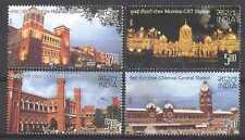 India 2009 estaciones de ferrocarril/transporte/trenes/Construcciones/Arquitectura 4 V (n27063)