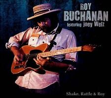 FREE US SH (int'l sh=$0-$3) NEW CD Roy Buchanan & Joey Welz: Shake Rattle & Roy