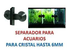 2 Uds de SEPARADOR de ACUARIOS partir division guias cristales acuario pecera