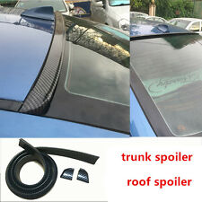Toyota Corolla Camry Reiz Crown Carbon Fiber Trunk Boot Spoiler Roof Wing 1.5M