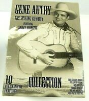 "Gene Autry ""The Singing Cowboy"" 10 Classic Movies, 5 VHS Tapes, Ships Free!"