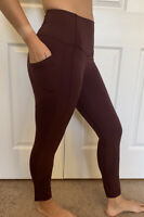 Lululemon Size 2 All the Right Places Crop 23 Red CSSI Pant Luxtreme Run HR