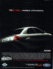 Publicité Advertising 088   2002   la Ford Mondeo  Tdci 130