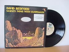 """DAVID BEDFORD """"Nurses Song With Elephants"""" PROMO (IMPORT IMP 1008) Mike Oldfield"""