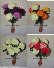 Flores secas y artificiales decorativas arbustos para el hogar