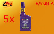 5x WYNNS Injector Cleaner for diesel 325ML fuel quality and combustion 51672