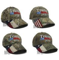 Donald Trump Cap Keep America Great President 2020 Real Tree US Mossy Oak Texas
