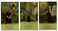 More details for (klh1412-525) nearer my good to thee, 3 card set unused g-vg