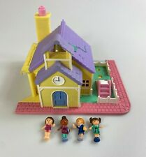 Polly Pocket Pollyville Schoolhouse Vintage Playset Near Complete 1993 Works #2