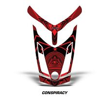 Ski Doo Rev XR GSX Summit Sled Sticker Decal Hood Graphic Kit 2013 CNSPRCY - RED