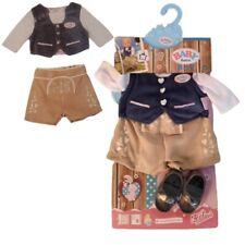 Zapf BABY born Puppenkleidung Trachten-Outfit Junge für 43cm Puppen