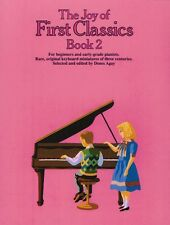 The Joy of First Classics Book 2 Sheet Music Piano Solo Yorktown Book 014001239