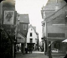 VITRE 1908 - Rue Poterie - Bretagne Positif Verre 10 x 8 - 59