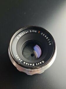 Carl Zeiss Jena Biotar 2/58 Rotes T 58mm F/2 M42 Mount