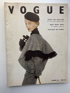 VOGUE MAGAZINE 1951 November   COMPLIMENTARY GIFT WRAP Fast Dispatch