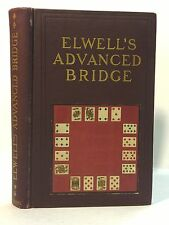 Advanced Bridge (cards) by Elwell  1905
