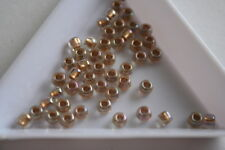 Gold Lined Rainbow Crystal Toho Seed Beads. Size 6 4mm. 150 beads approx. #7322