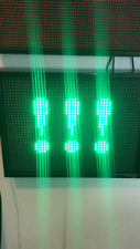 28''x21'' LED Scrolling Sign Board Panel Programmable Moving Message Display