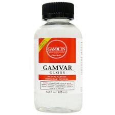 Gamblin Gamvar Gloss Picture Varnish 8 oz Bottle